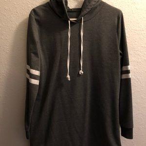 Sweaters - Comfortable hoodie dress